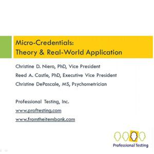 MicroCredentials